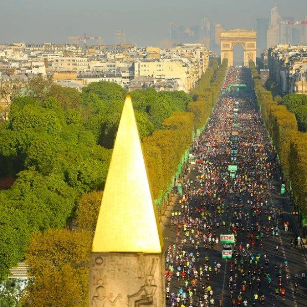 Paris Marathon overlook