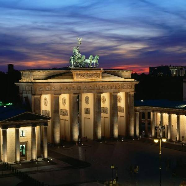 Berlin Marathon Brandenburg gate
