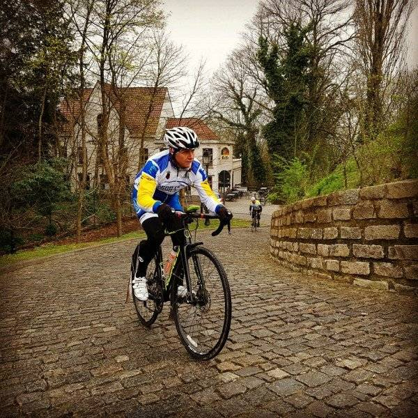 Climbing at the Tour of Flanders