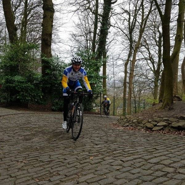 Climbing rep at the Tour of Flanders
