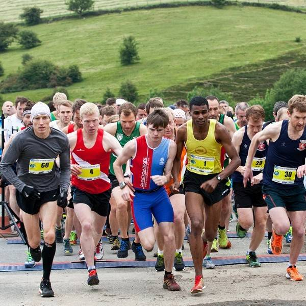 Tour of Tameside Copley Fell race