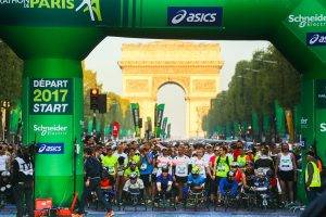 Paris Marathon start 1