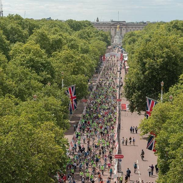 prudential ridelondon freecycle on the mall