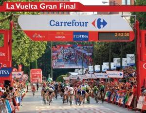 Vuelta final in Madrid